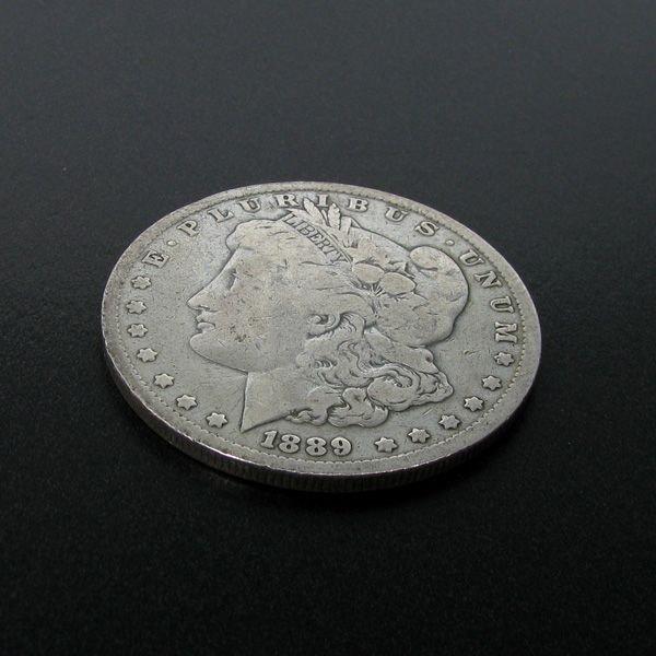 1889  U.S. Morgan Silver Dollar Coin - Investment