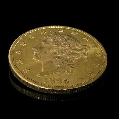 1895 $ 20 U.S. Liberty Head Gold  Coin - Investment