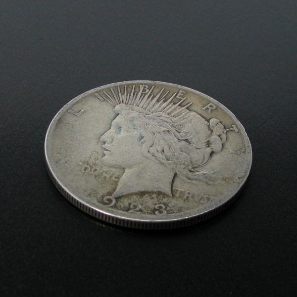 1923-S U.S. Peace Silver Dollar Coin - Investment