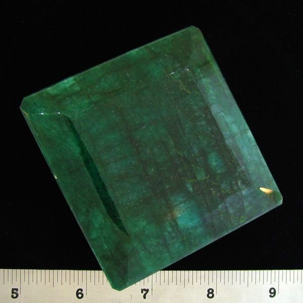 APP: 291.9k 1,016.96CT Square Cut Emerald Gemstone