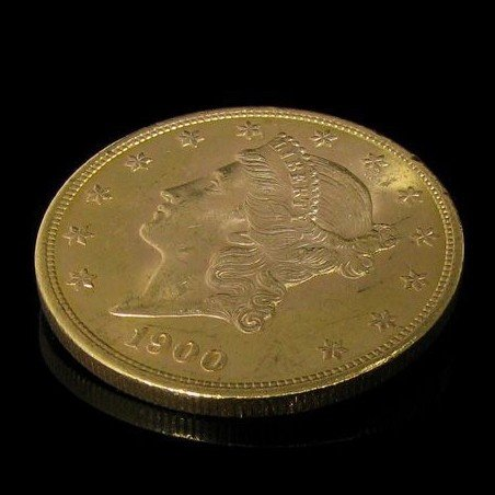 1900 $ 20 U.S. Liberty Head Gold  Coin - Investment