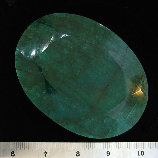 APP: 350.3k 1,478.00CT Oval Cut Emerald Gemstone