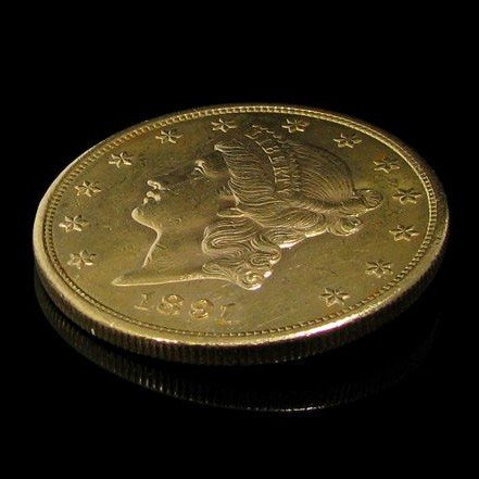 1891-s $ 20 U.S. Liberty Head Gold  Coin - Investment