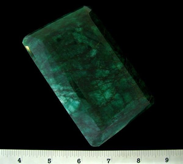 APP: 422.5k 2,259.50CT Emerald Cut Emerald Gemstone