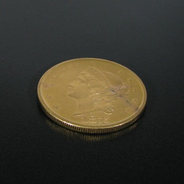 1875-S $20 U.S. Liberty Head Gold Coin - Investment