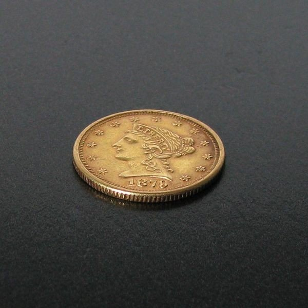 1879 $2.5 Liberty head Gold Coin - Investment