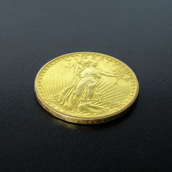 1908-S $20 Saint-Gaudens Gold Coin - Investment
