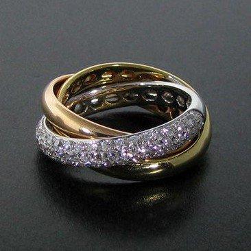 APP: 6k 18kt Gold & 0.8CT Diamond Ring