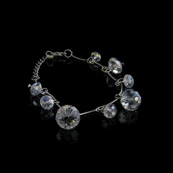 Round Crystal Bracelet
