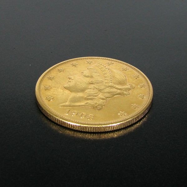 1903-S $20 U.S Liberty Head Gold Coin - Investment