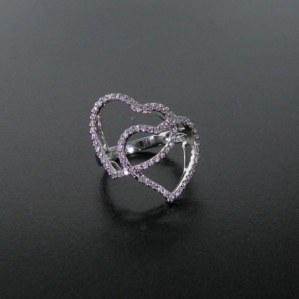 APP: 3.2k 18 kt. White Gold, 0.42CT Diamond Ring
