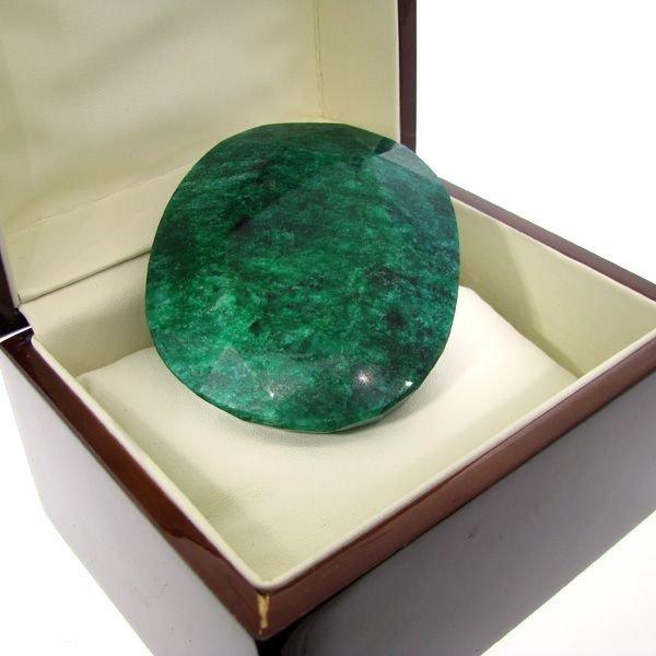 APP: 225k 1,124.95CT Emerald Gemstone