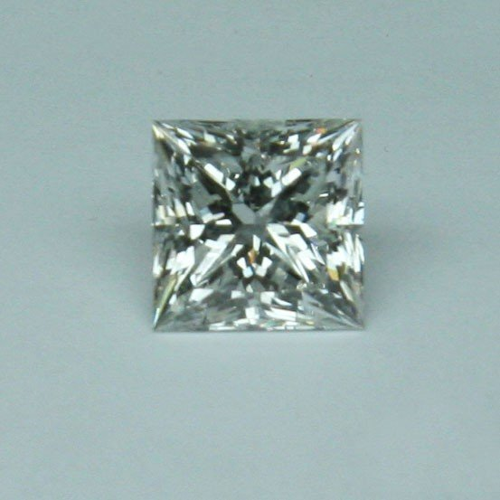 6.11 CT Princess Cut Diamond - EGL Appraised Stone