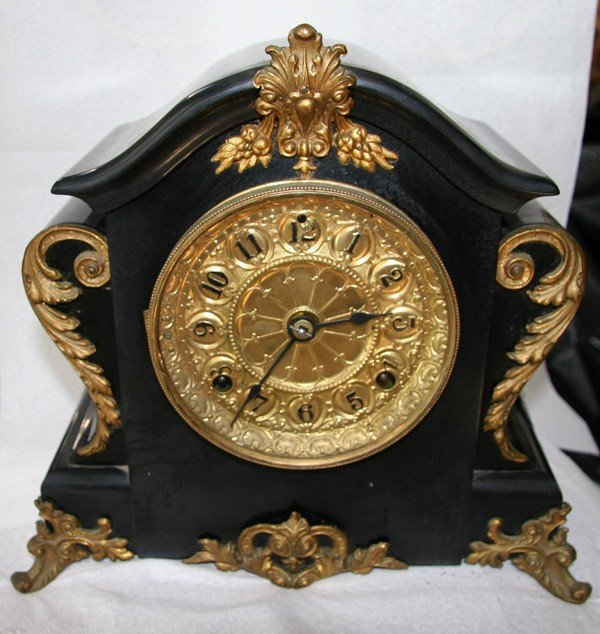 Antique American Seth Thomas Clock- Sold As Is