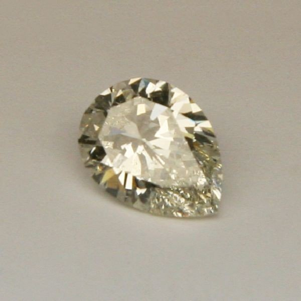 4.05 CT Pear Shaped Diamond - EGL Appraised Stone