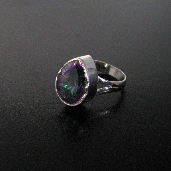 Mystic Topaz & Sterling Silver Ring