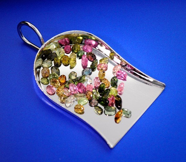 22.25CT Oval Cut Mixed Tourmaline Parcel