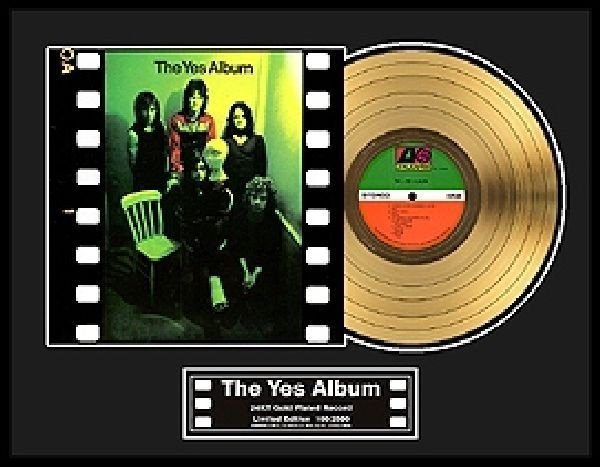 "YES ""The Yes Album"" Gold LP"