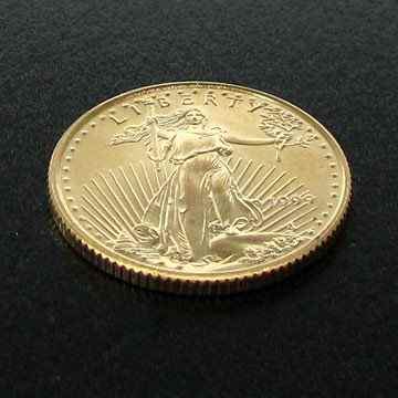1999 $5 U.S. 1/10 Saint-Gaudens Gold Coin - Investment