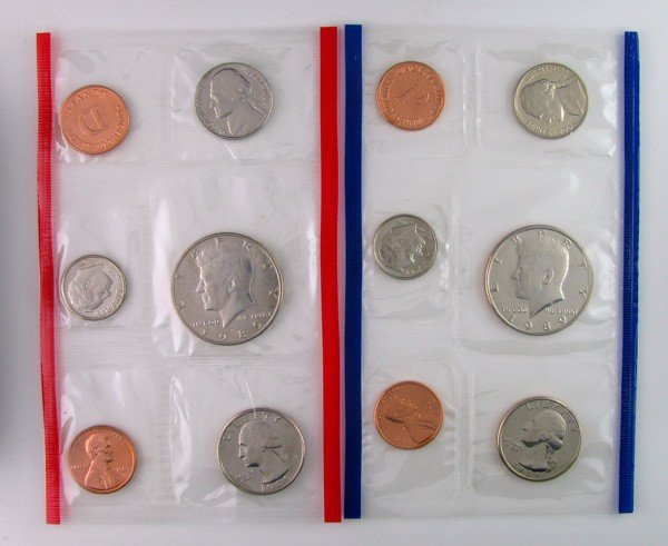 1989 U.S Uncirculated Marked D&P Coin - Investments