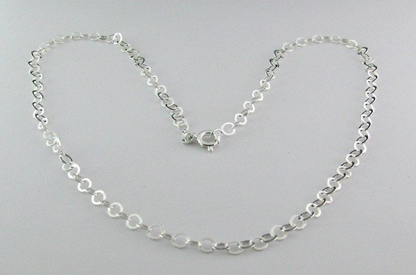 Sterling Silver Neck Chain Necklace