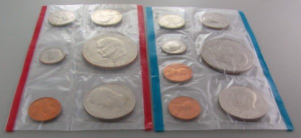 1974 U.S. Uncirculated Mint Coin - Investment