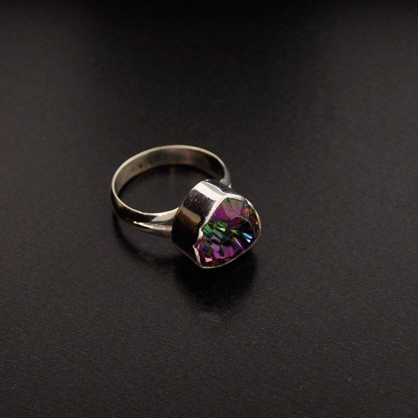 Mystic Topaz & Sterling Silver Ring