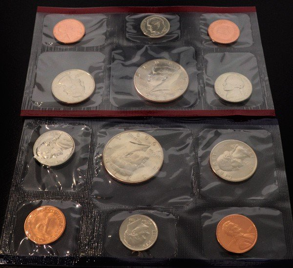 1988 U.S Uncirculated Marked D&P Mint Coins