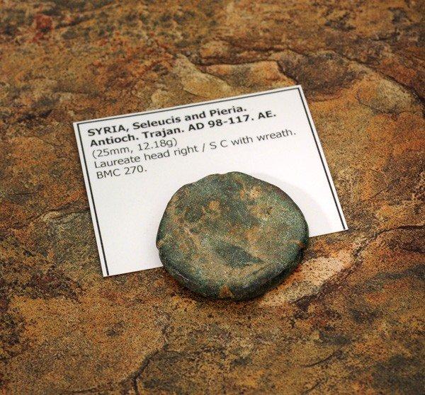 98-117 AD Syria Seleucis & Pieria Antioch Ancient Coin