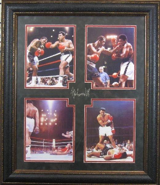 7: Muhammad Ali - Plate Signature