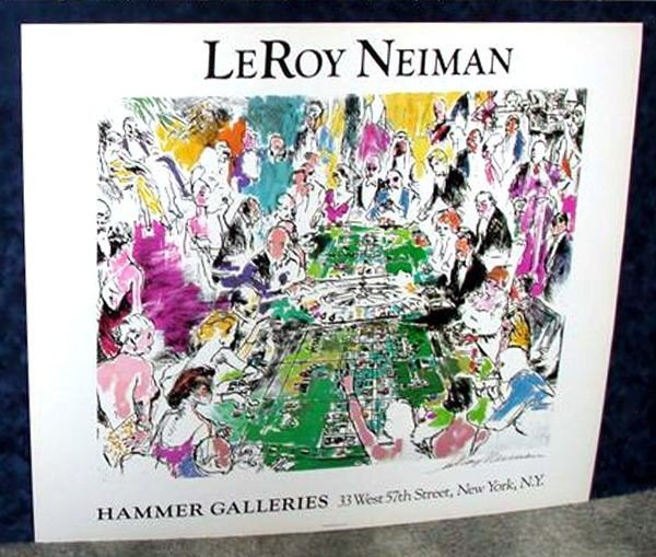 43: Hand Signed LeRoy Neiman: Game of Life