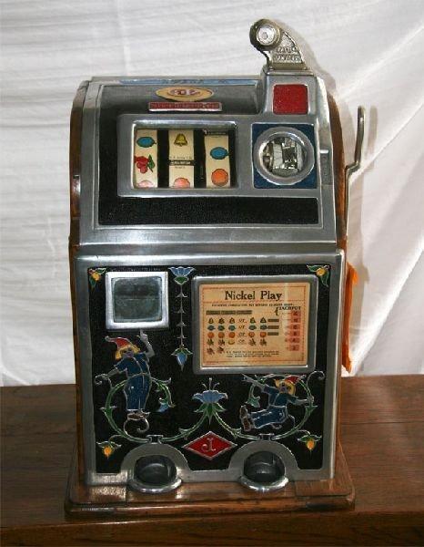 Early Slot Machine-Mint-Original