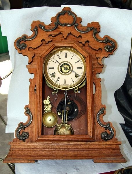 Antique American Kitchen Clock- Sold As Is