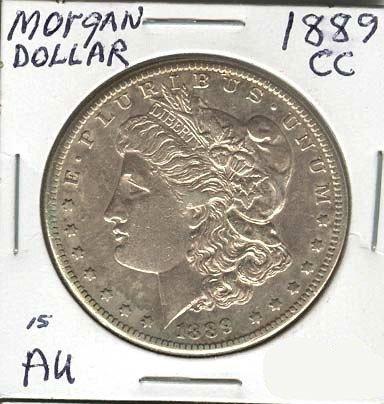 1889-CC Morgan Silver Dollar Coin - Investment