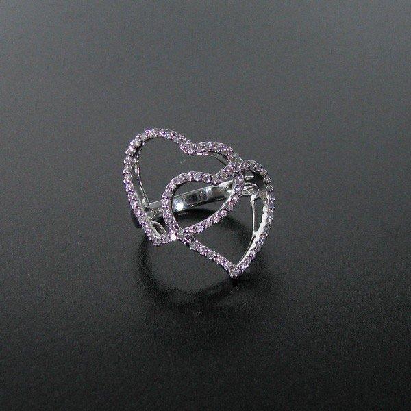 25: APP: 3.2k 18 kt. White Gold, 0.42CT Diamond Ring