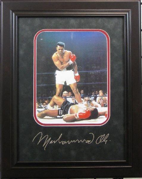 47: Muhammad Ali - Plate Signature