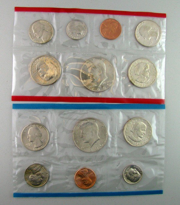1980 U.S. Uncirculated Mint Coin - Investments