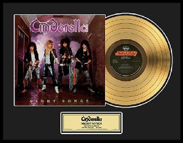 "CINDERELLA ""Night Songs"" Gold LP"