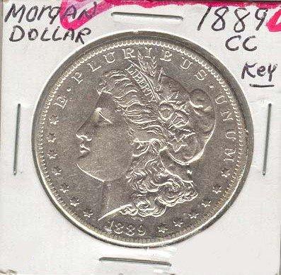 1889-CC U.S. Morgan Silver Dollar  Coin - Investment