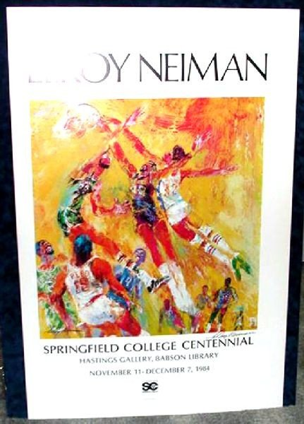 Hand Signed LeRoy Neiman: NBA All-Stars