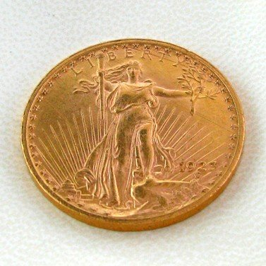 1923 $20 U.S. St. Gaudens Gold  Coin - Investment