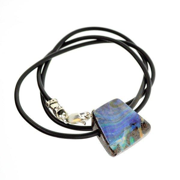 APP: 87.7k Boulder Opal Necklace