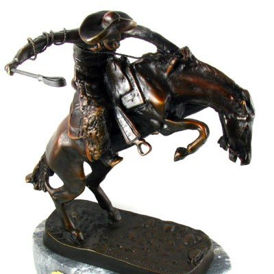 Frederic Remington Baby Bronze Reissue - Wooly Chaps