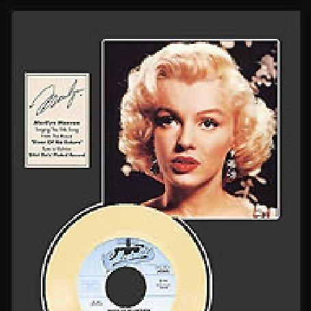 "MARILYN MONROE ""River of No Return"" Gold Record"