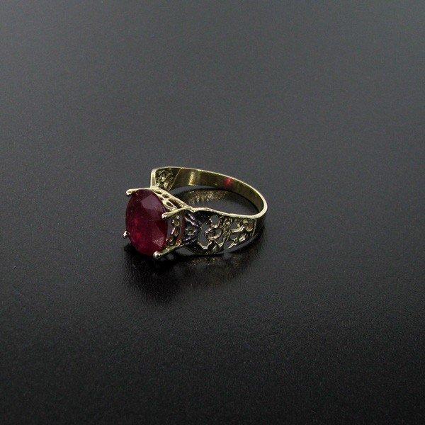 APP: 3.7k 2.52CT Ruby 14 kt. Gold, Ring