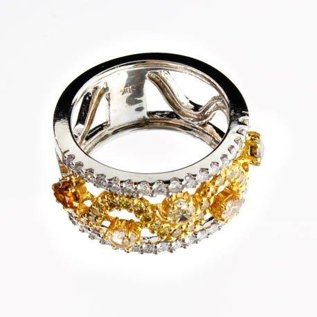APP: 9k 18kt White & Yellow Gold, 1.60CT Diamonds Ring