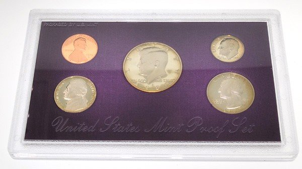1989 United States Proof Set Coin - Investment