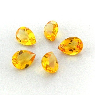 APP: 2.6k 21.68CT Pear Cut Citrine Parcel