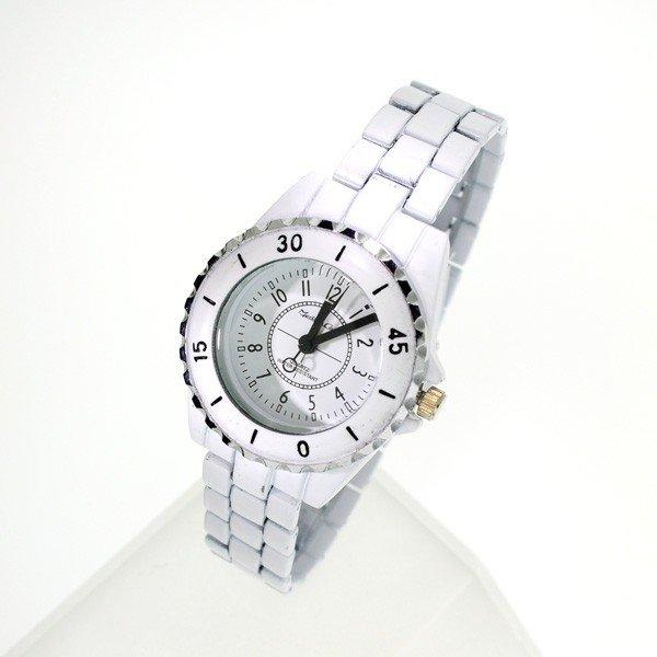 Montres Carlo Women White Metal (water Resistant) Watch