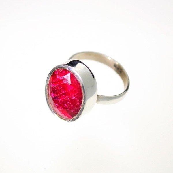 APP: 2k 9.42CT Ruby & Sterling Silver Ring